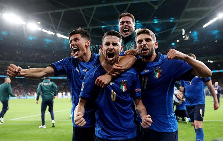 Италия – великая. Выходят в финалы Евро или ЧМ уже 7 десятилетий подряд