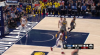 Domantas Sabonis sinks the shot at the buzzer