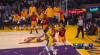 JaVale McGee sends the shot away