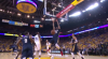 Anthony Davis rises up and throws it down