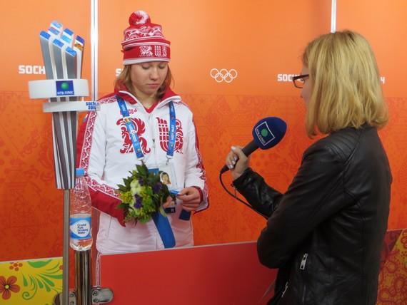 Сочи-2014, сборная России жен (коньки), Ольга Фаткулина, Сан Хва Ли