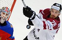 сборная России, сборная Латвии, ЧМ-2016