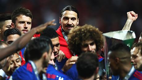 Златан – главный герой финала Лиги Европы
