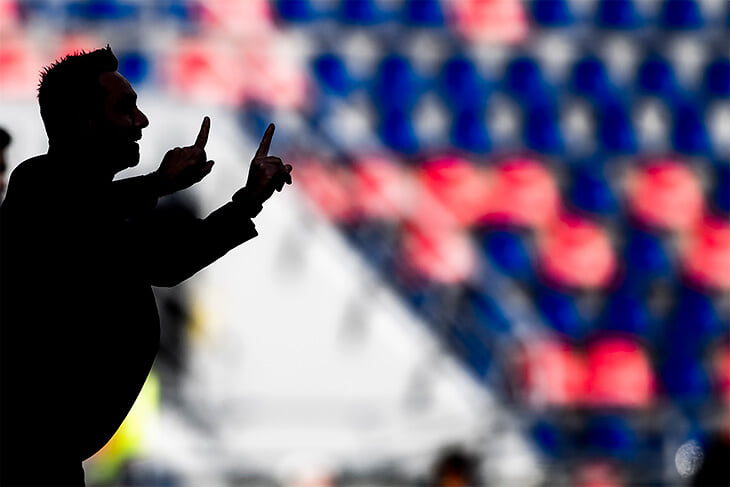 Роберто Де Дзерби – новая тренерская звезда Серии А. Его «Сассуоло» – лучшая по контролю команда Италии, но ей не хватает импровизации