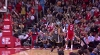 James Harden knocks it down as the clock expires
