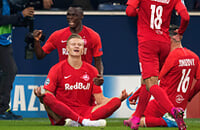 Лига чемпионов УЕФА, Ред Булл Зальцбург, Эрлинг Холанд