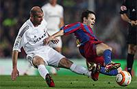 Барселона, Реал Мадрид, примера Испания, Зинедин Зидан, Лионель Месси, Дани Алвес, Андрес Иньеста