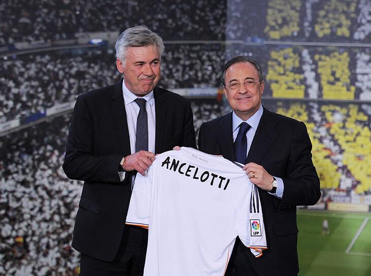 Главное о трансфере Анчелотти в «Реал»: Перес хотел Почеттино или Конте, «Эвертон» получит компенсацию