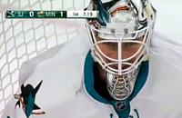 Мартин Джонс, Крис Стюарт, НХЛ, видео, Сан-Хосе, Миннесота