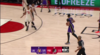 Anthony Davis slams home the alley-oop