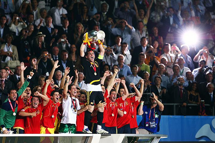 Футбольные легенды испании