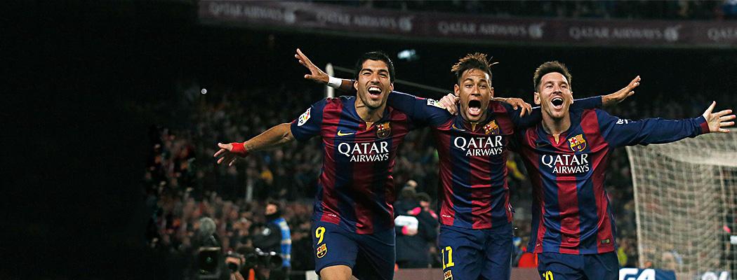 «Барселона» имени Месси, Суареса и Неймара: величайшая команда современности?