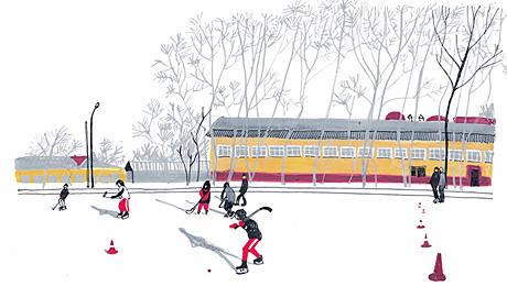 Шайба и мяч. Хоккей в Хакасии