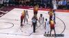 Kyle Kuzma sends the shot away