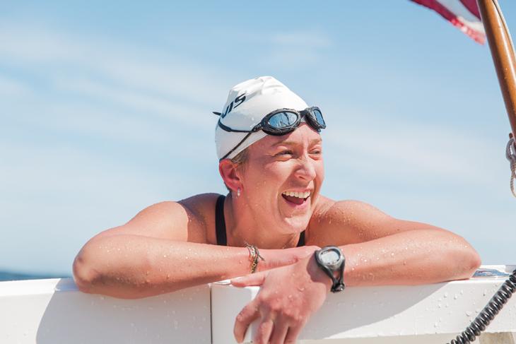 Кимберли Чемберс, сборная Новой Зеландии жен, плавание