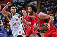 Милош Теодосич, ЦСКА, Turkish Airlines Euroleague, Баскония