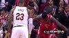 Clint Capela scores and draws the foul