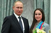 Аделина Сотникова, Алина Загитова, Евгений Плющенко, Политика