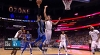 D.J. Augustin somehow gets this to go