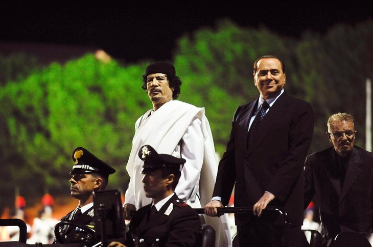 Муаммар каддафи ювентус