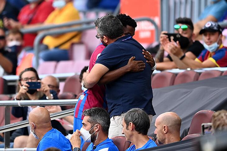 Ансу Фати вернулся на «Камп Ноу» как король: забил, встряхнул стадион, еле уехал от фанатов