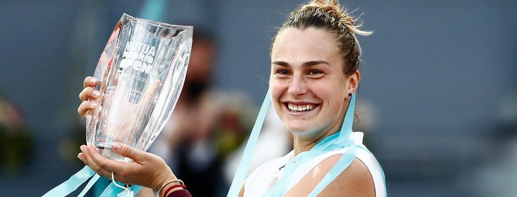 Улюбёнка Лукашэнкі разнесла Мадрыд: 176 вінерсаў, першы тытул на грунце і топ-4 рэйтынгу WTA