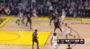 Great assist from Stephen Curry