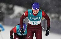 Россия лидирует в лыжной эстафете. Онлайн Олимпиады