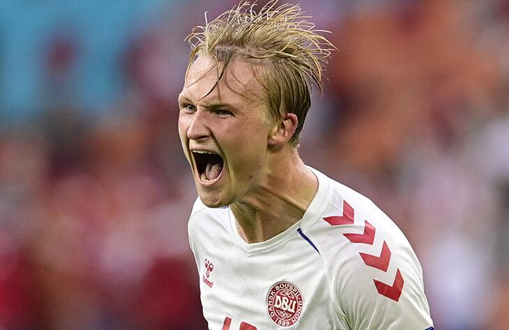 История взлетов и проблем героя Дании: Дольберга хотели топы АПЛ, но на Евро он блеснул как форвард «Ниццы»