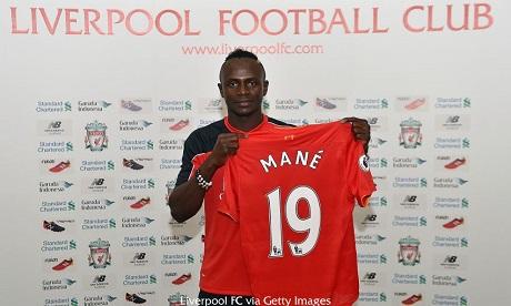 Ливерпуль подписал Мане