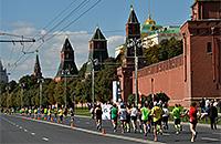 бег, Московский марафон