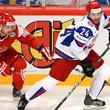 Сборная Дании по хоккею, Сборная России по хоккею