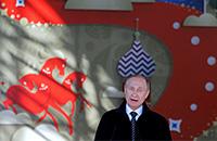 Владимир Путин, Томас Бах