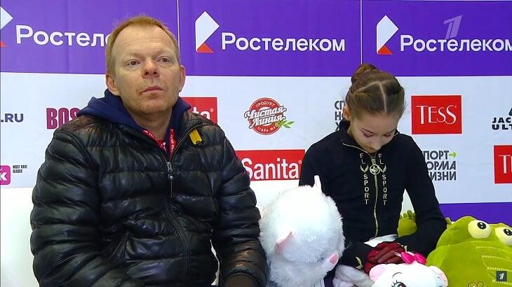 13-летняя Софья Акатьева исполнила уникальное комбо из прыжков: она 3 года работает с Тутберидзе и слушает советы Загитовой