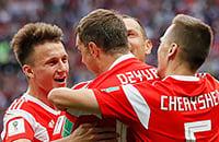 Год назад сборная России сыграла первый матч чемпионата мира. Вспомните всех игроков команды?