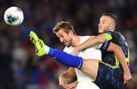 Сборная Англии по футболу, сборная Косово по футболу, квалификация Евро-2020, Рахим Стерлинг, Харри Кейн, Валон Бериша, Ариянет Мурич