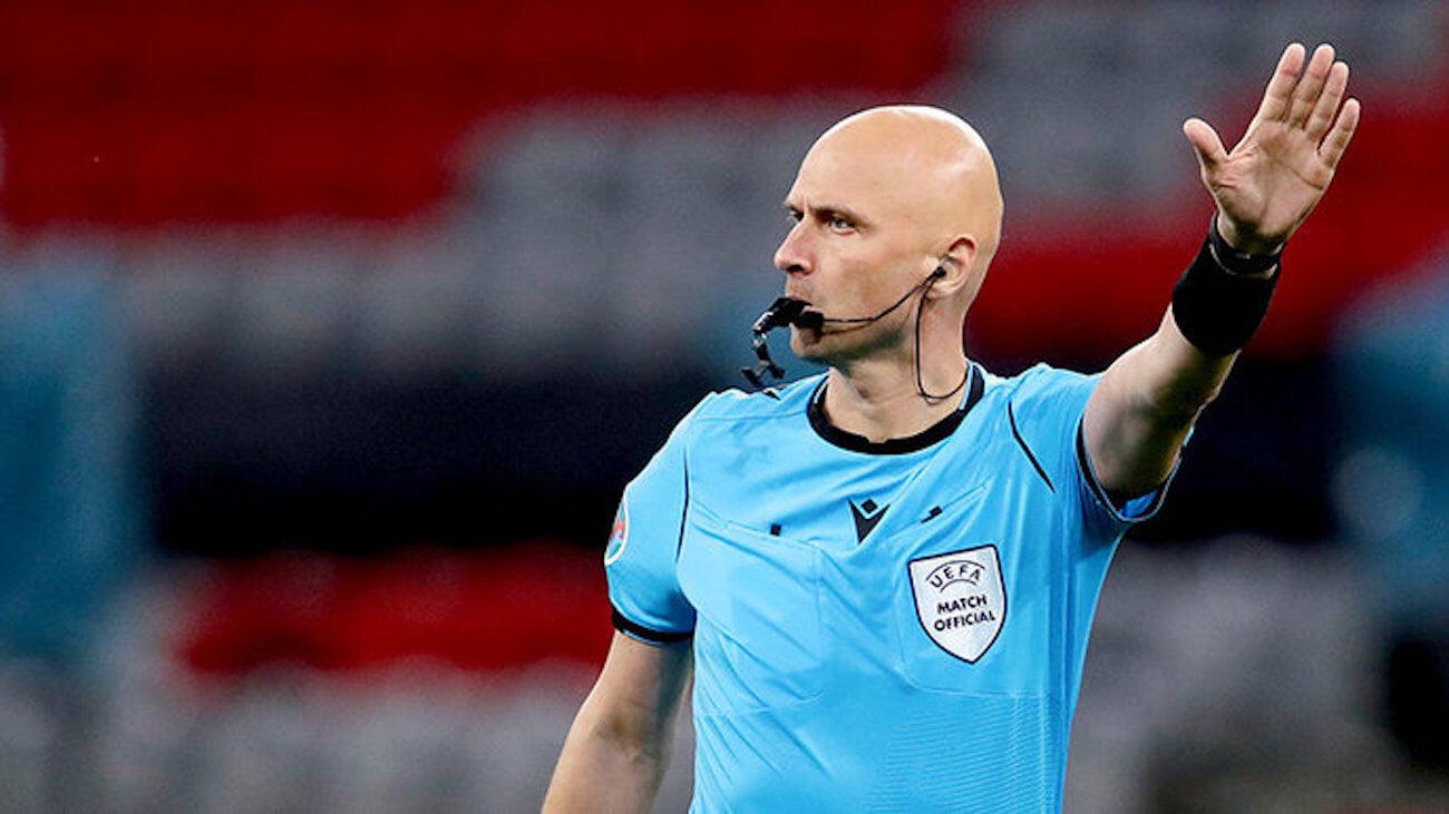 Карасев назначен резервным судьей на матч Италия  Испания, Брих  главным