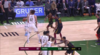 Donte DiVincenzo with the huge dunk!