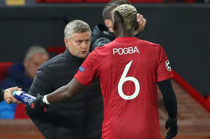 «Агенту Погба нужно понять, что футбол – командный вид спорта». Сульшер опять воюет с Райолой, а тот намекает на уход в«Юве»