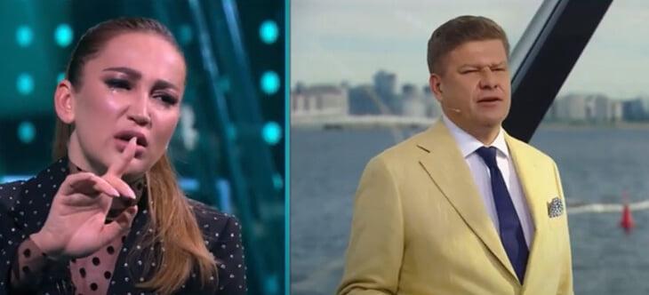 «Вы для меня дно и не мужчина!» Конфликт Бузовой и Губерниева на «Матч ТВ» – со слезами и Карлсоном