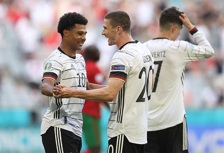 Немцы доминировали над Португалией в стиле топ-клуба – уничтожали переводами на Гозенса и порадовали Бьельсу и Конте