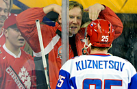 молодежная сборная России, молодежная сборная Канады, болельщики, молодежный чемпионат мира