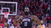 James Harden sinks it from downtown