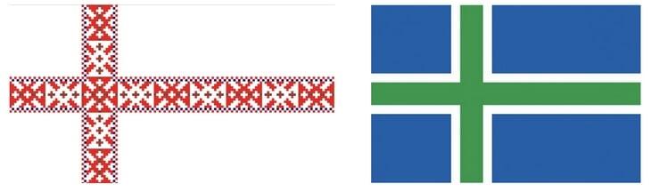 Почему у скандинавских стран такие похожие флаги?