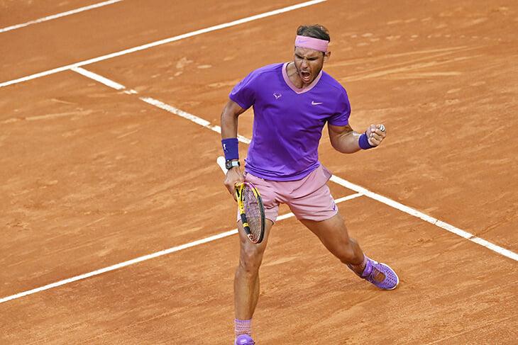 Новак Джокович, Рафаэль Надаль, ATP, Открытый чемпионат Италии