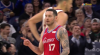 JJ Redick finishes through contact
