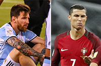 сборная Аргентины, сборная Чили, сборная Португалии, Криштиану Роналду, Лионель Месси, фото