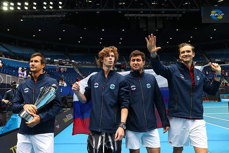 Россия взяла первый командный титул с 2008-го! Рублев на космическом уровне, Медведев в финале провел лучший матч