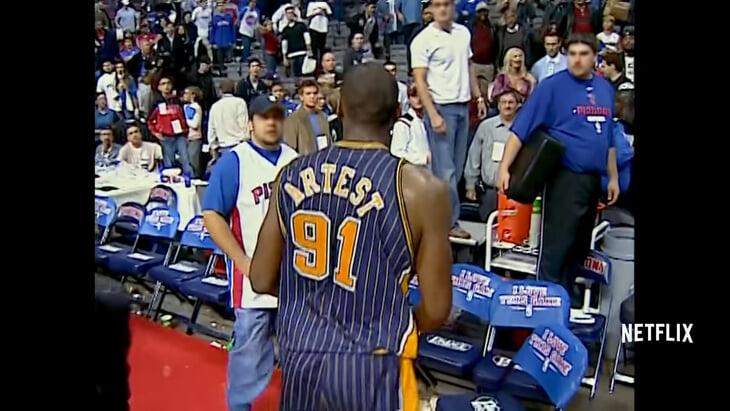 Netflix выпустил документалку о побоище игроков и болельщиков НБА в Детройте. Мы собрали для вас все самое интересное из фильма