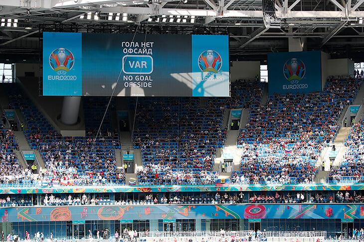 Отдельные ВАР-судьи для офсайдов –новинка Евро-2020. Благодаря им гол финнов отменили так быстро